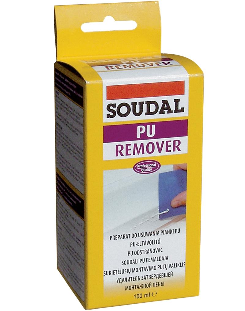 Soudal remover - do usuwania plam z PVC