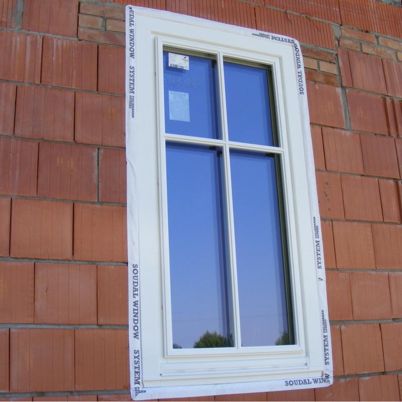 Okna zamontowane metodą ciepłego montażu