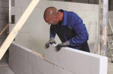 Klej do betonu komórkowego – szybkie stawianie ścianki działowej