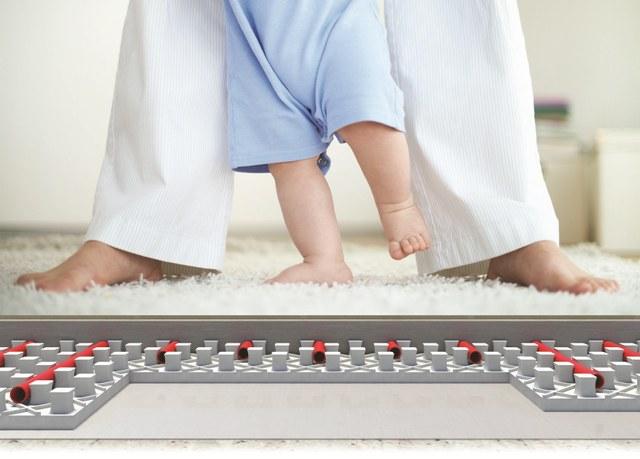 Knauf therm floor heating komfort