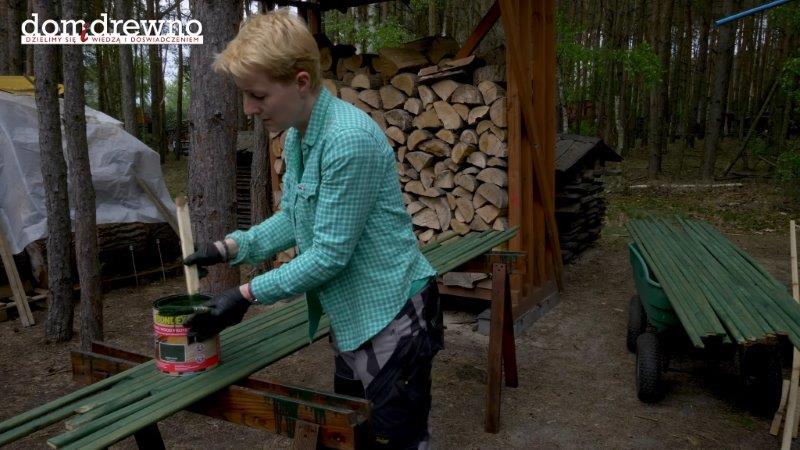 Zabezpieczanie drewna w ogrodzie