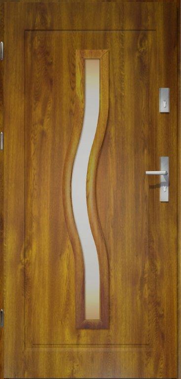 Ozdobne przeszklenie - drzwi model Ceres