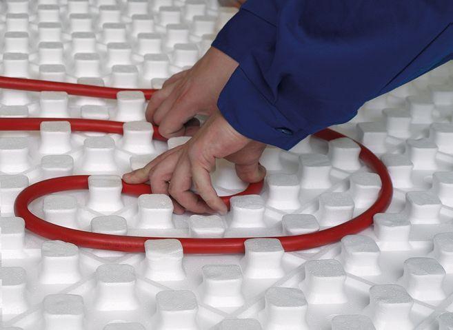 Styropian Knauf therm expert floor heating do montażu rur