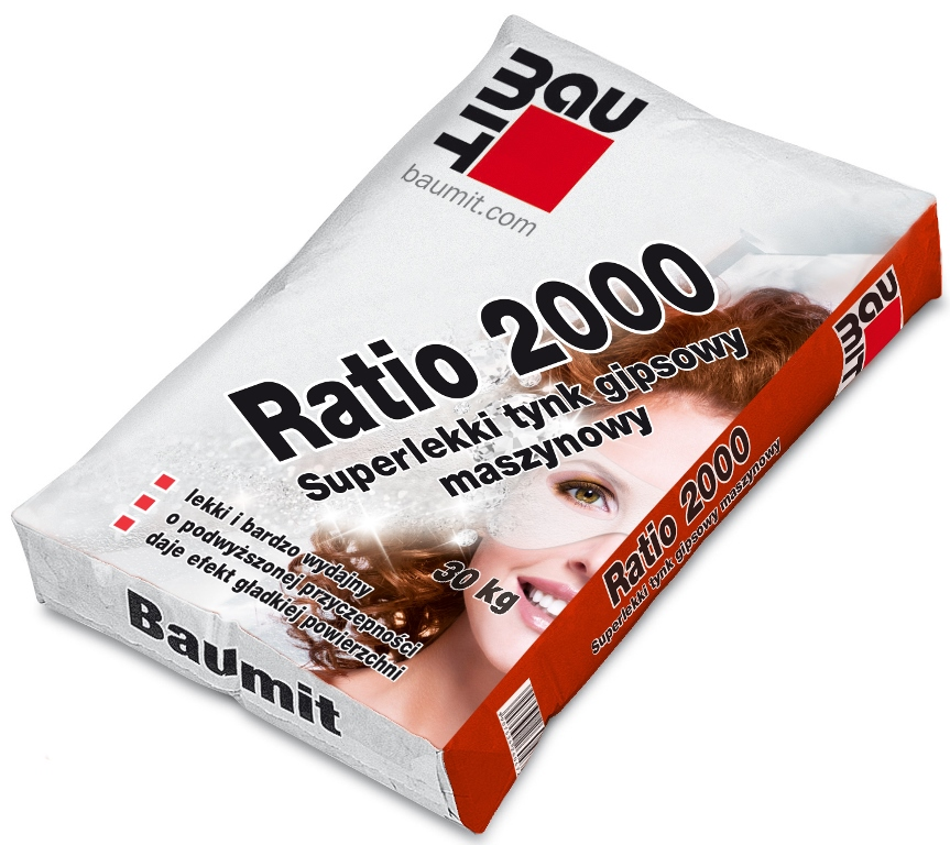 Baumit lekki tynk Ratio 2000