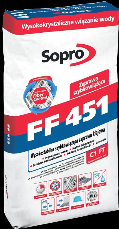Zaprawa klejowa 451 Sopro FF