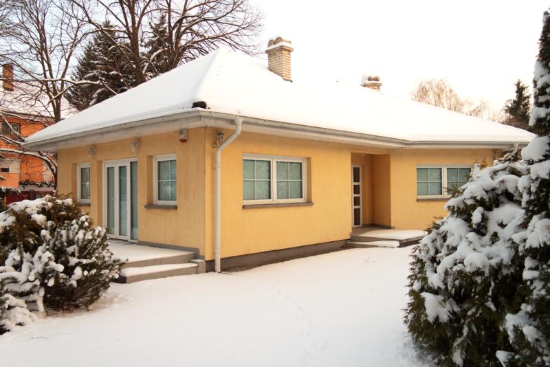 Dom z termoizolacją firmy Paroc