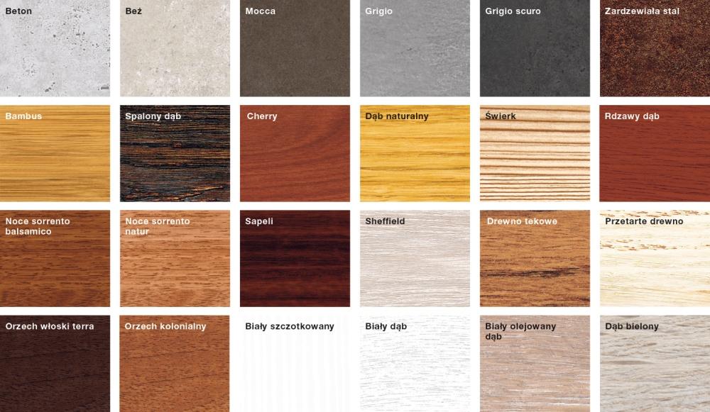 Duragrain kolory do wyboru