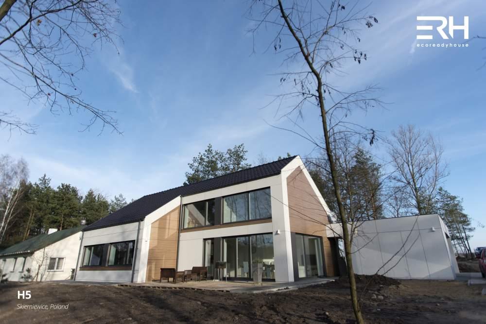 Dom niskoenergetyczny Eco Ready House - fot. Multi_Comfort Saint-Gobain