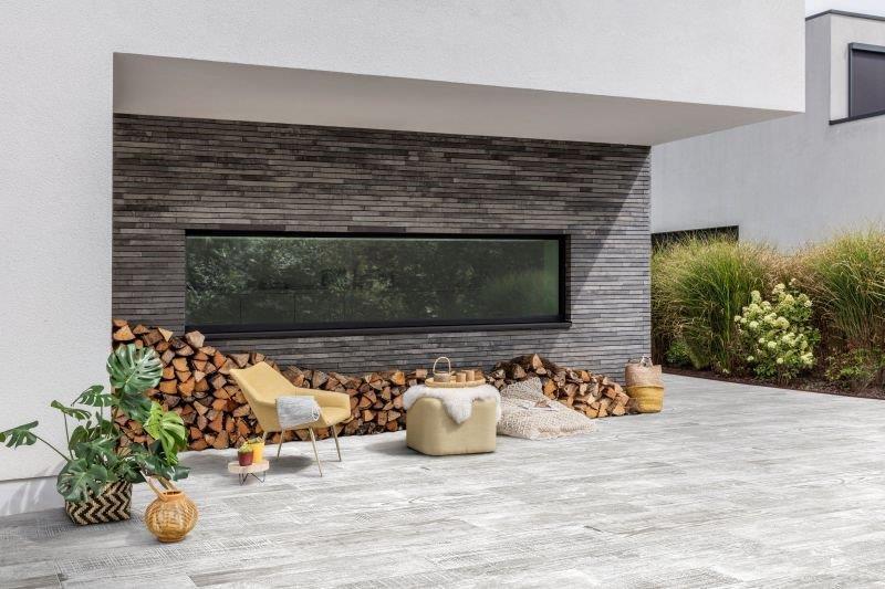 Płyty betonowe Forest Nordic White