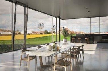 Czy duże okna aluminiowe nadają się do energooszczędnego domu?