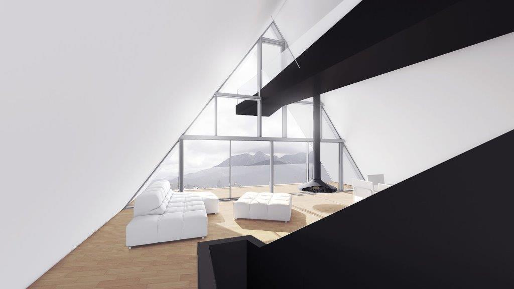 Projekt domu wykonany przez BXBstudio