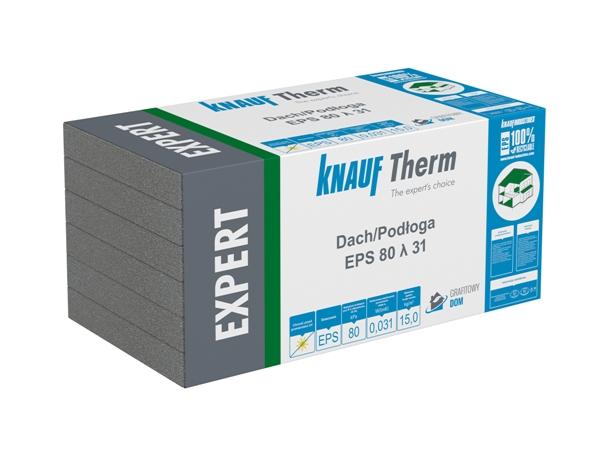 Opakowanie styropianu grafitowego Knauf therm dach podłoga