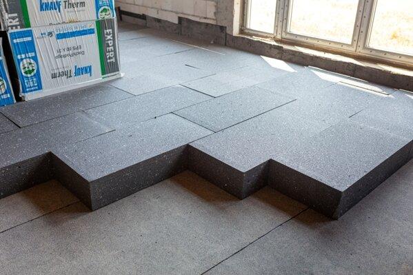 Płyty styropianu grafitowego Knauf therm dach podłoga