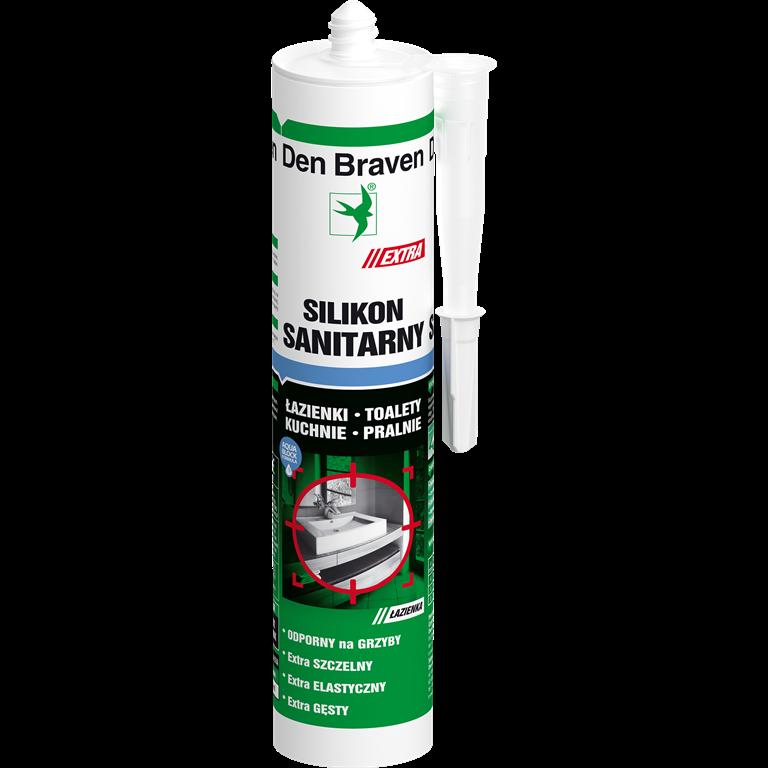 silikon sanitarny extra marki Den Braven