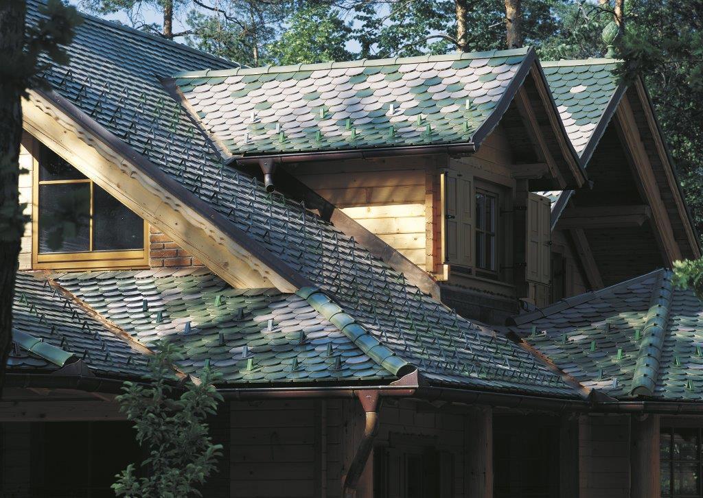 Noski śniegowe na dachu Creaton
