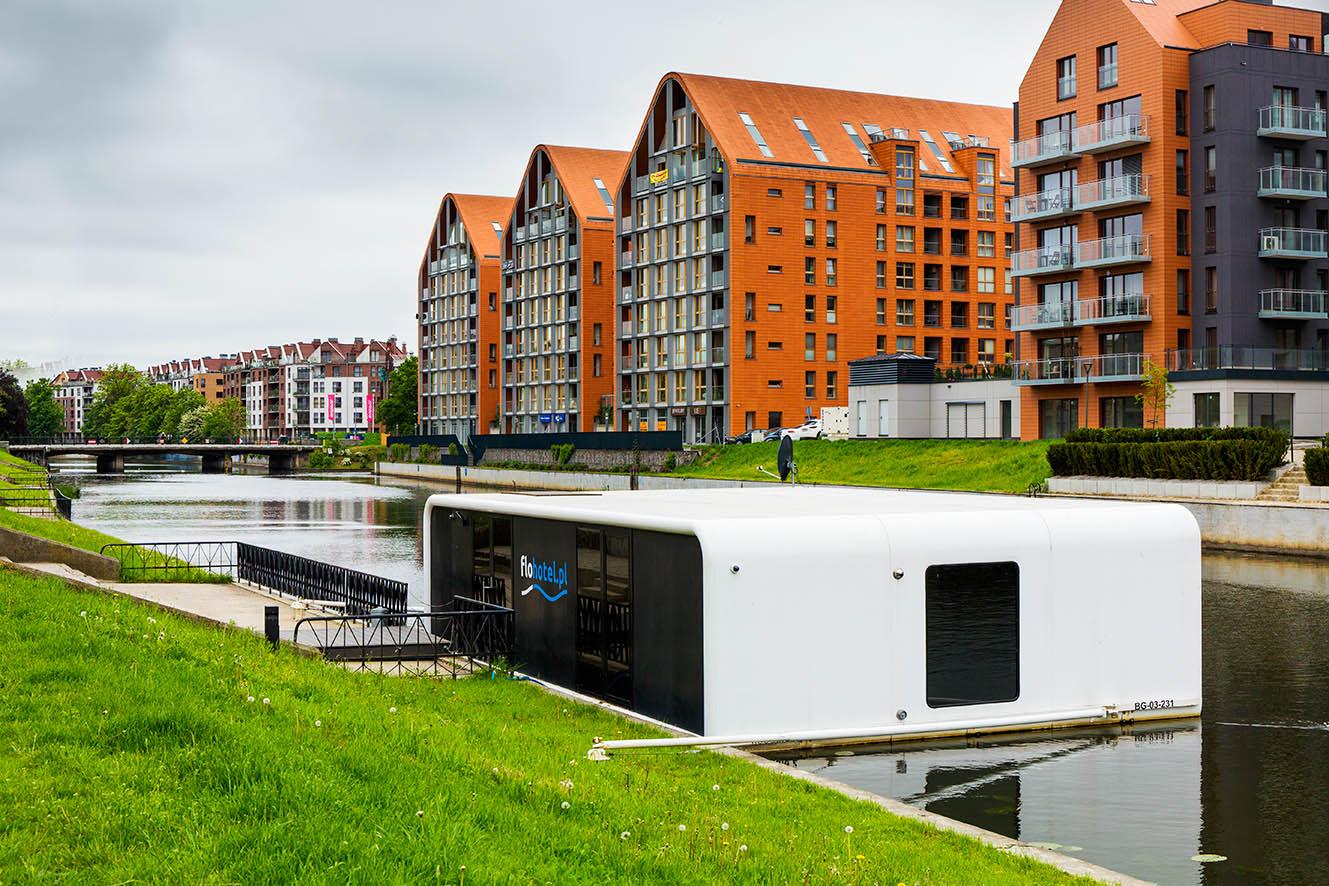 FloHotel 24 - Gdańsk hotel na wodzie