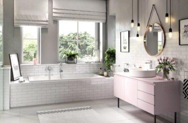 Łazienka w modnej kolorystyce