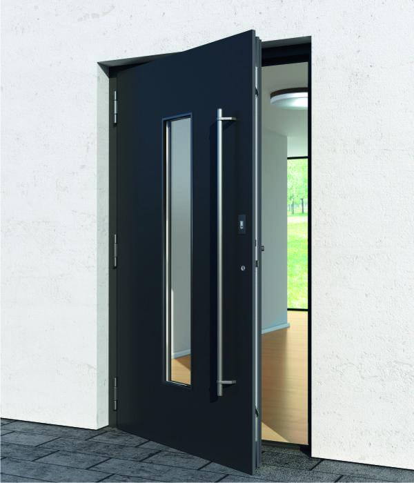 Drzwi wejściowe Schüco LivIng bez progu