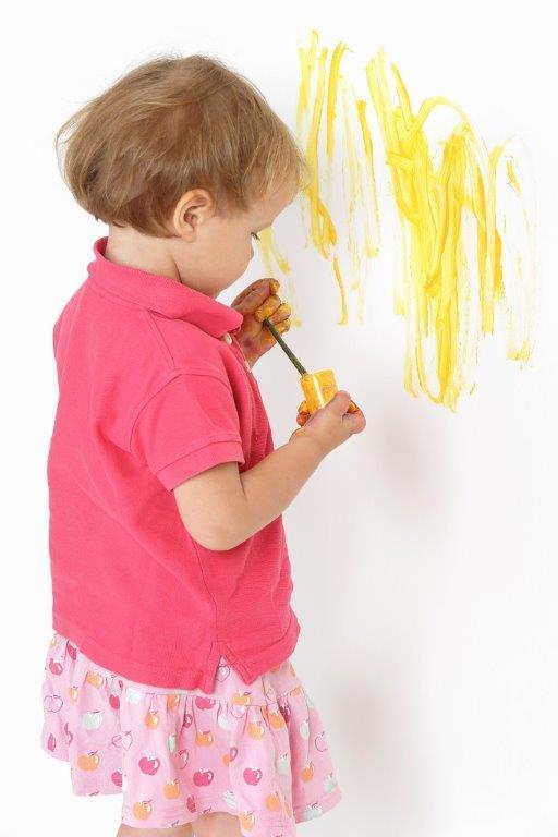 farby odporne na szorowanie szczególnie przydają się w pokojach dziecięcych