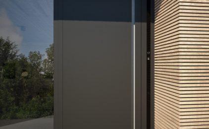Drzwi wejściowe z progiem 0 mm