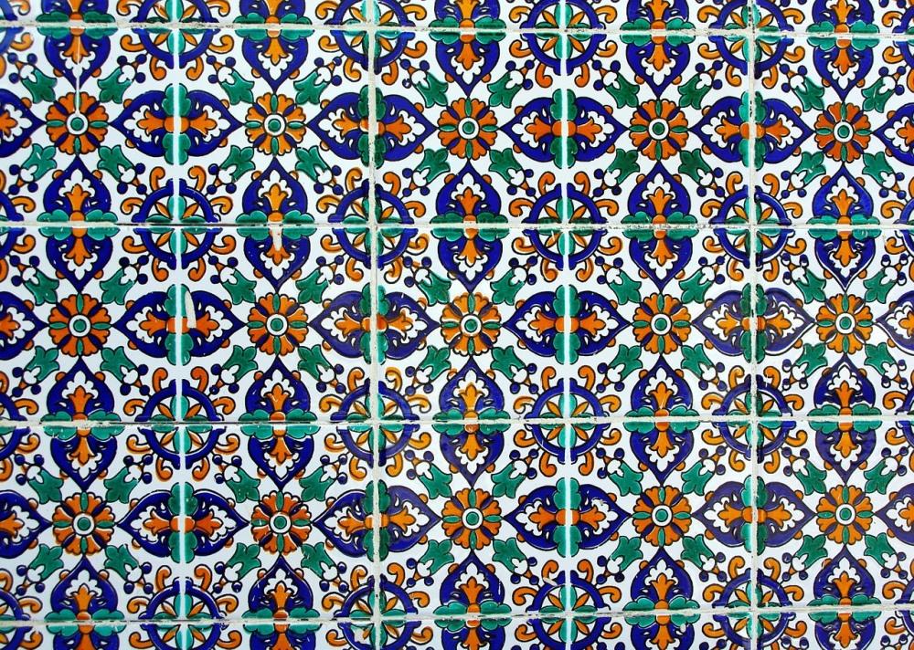 Kafle marokańskie z fugami