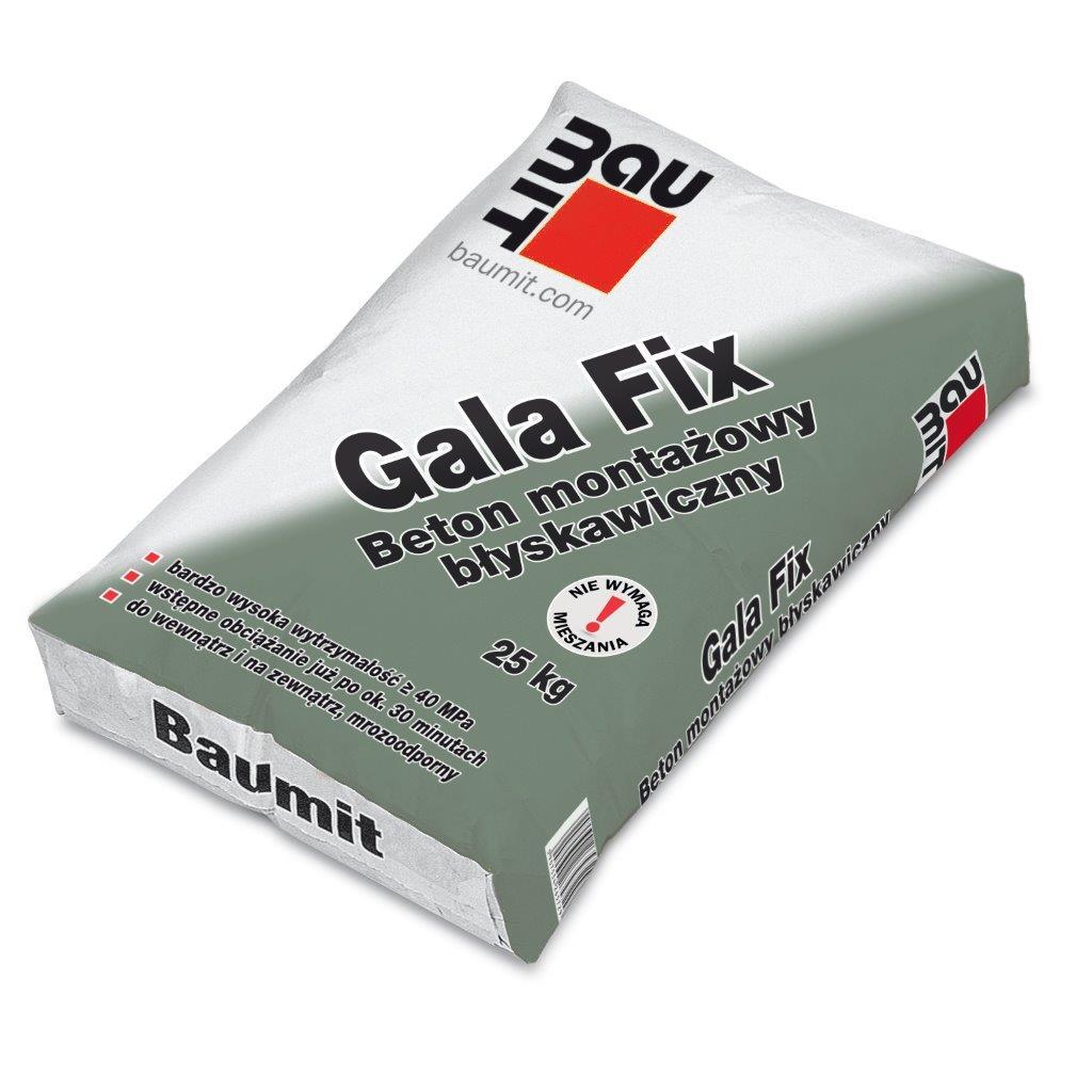 Beton montażowy błyskawiczny Gala Fix