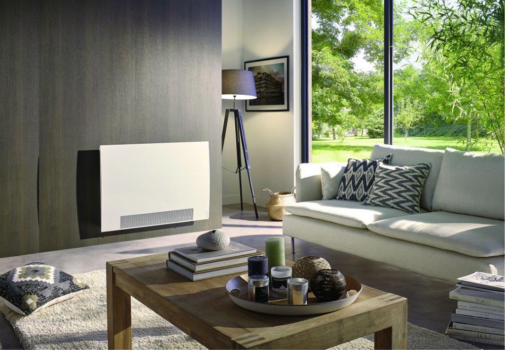 W gorące dni grzejnik Panorama może chłodzić pomieszczenia