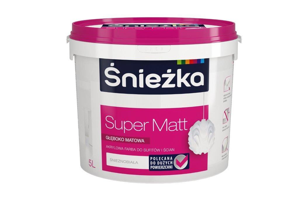 Śnieżka Super Matt głęboko matowa akrylowa farba