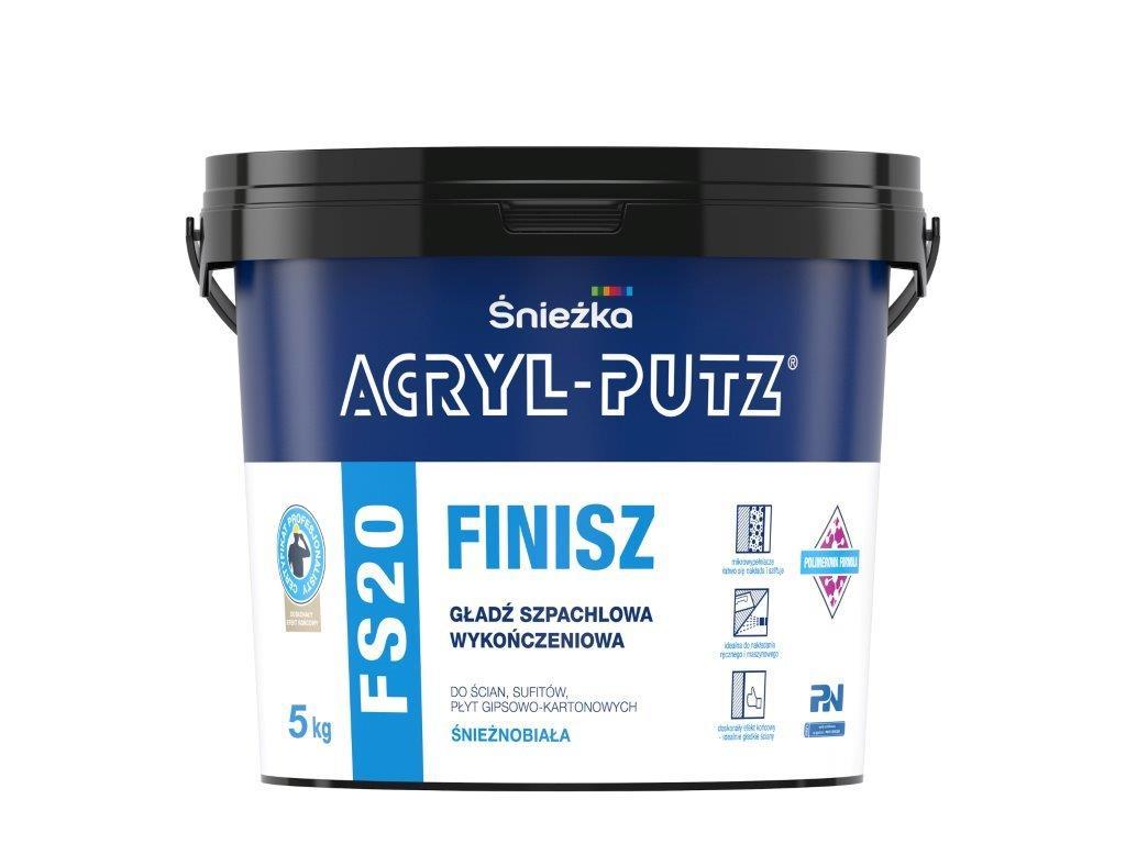 ACRYL-PUTZ® FS20 FINISZ gładź szpachlowa wykończeniowa