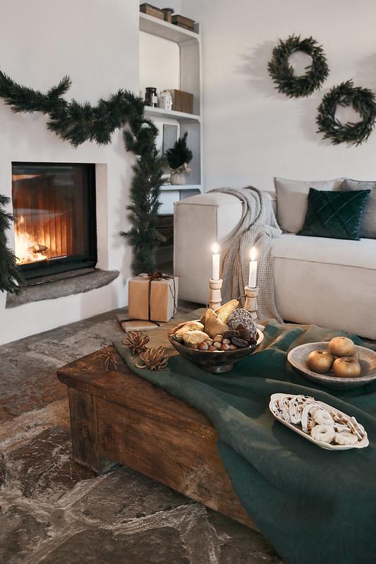Styl Cozy Living - spokojne aranżacje świąteczne