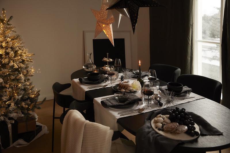 Świąteczna dekoracja czarno-biała - WestwingNow