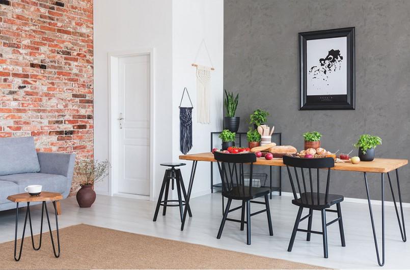MAGNAT_Style_Beton_beton i cegla w salonie