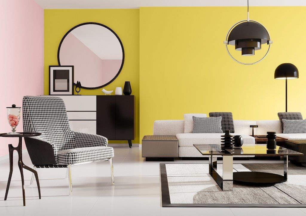 Wnętrze w kolorach roku 2021