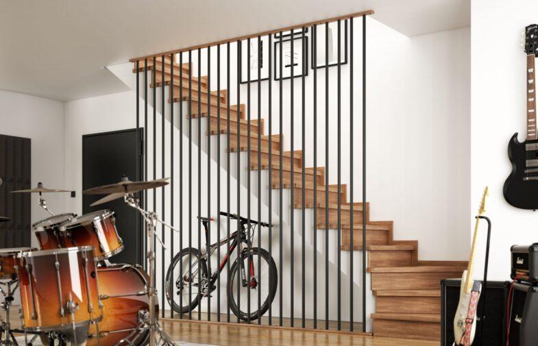 Pomysł do nowoczesnych wnętrz – schody z ażurowymi balustradami